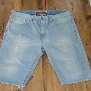 Levi's 511 cutoff shorts